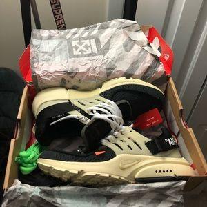 Nike Off White Presto size 9.5
